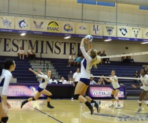 Women's volleyball's tough transition to Division 2