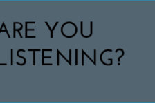 Are You Listening?: What about us?