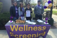 Students organize campus wellness screening