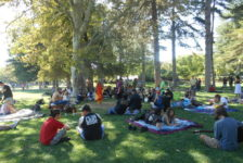 Drum circle creates artistic outlet for locals