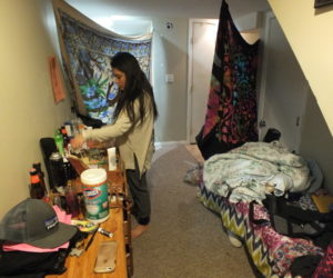 College students live under the radar and against the law to save money