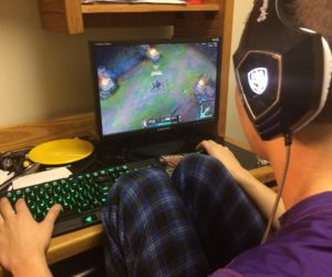 Westminster student plays video games to pay tuition