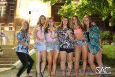 Thrift store clothing becomes a party fashion trend