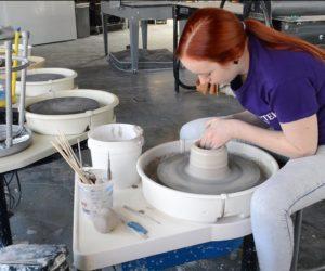 Medicine as art: Westminster student combines unlikely duo into her work