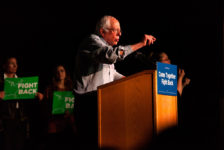 """Come together and fight back"": Sen. Bernie Sanders visits Salt Lake City"