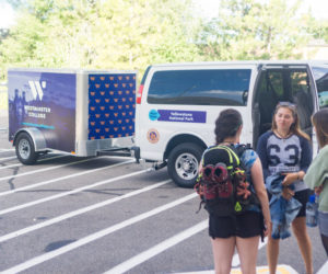 Westminster Expedition students trade the classroom for a van