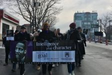 Members of Westminster's Black Student Union celebrate Dr. Martin Luther King's legacy