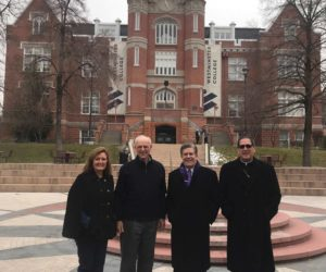 Catholic bishop visited campus after personal invitation