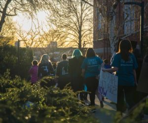 "Students ""Take Back the Night"" in march for Sexual Assault Awareness Month"