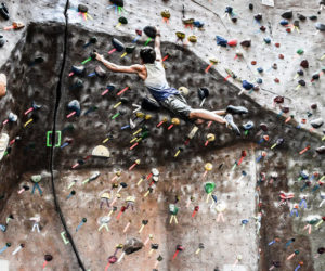 Westminster student battles scoliosis with rock climbing