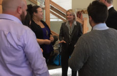 Students meet Westminster College's president-elect at open house