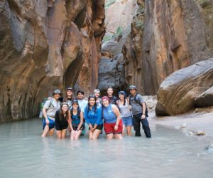 GriffinQuest returns from Zion National Park