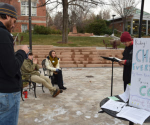 Westminster students raise awareness for Conference of Parties