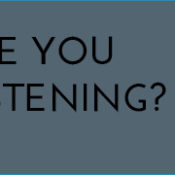 Are You Listening?: Why I'm angry