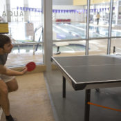 Students compete in sectional tournament pingpong club