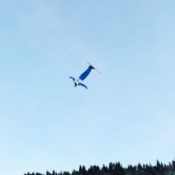 Students fly high at the 2016 Freestyle Skiing World Cup