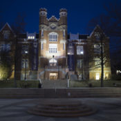 Blue light emergency phones bring safety to campus
