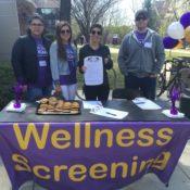 Students organize campus wellness screening