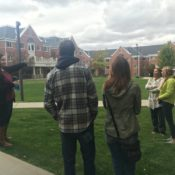 Passion, not money, now drives campus tour guides