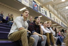 Students love to support Westminster athletics… sometimes