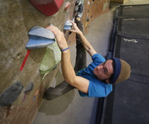 After injuries, Westminster's climbing wall plans to improve its facilities