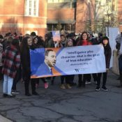 The dream lives on at Westminster's Martin Luther King Jr. March
