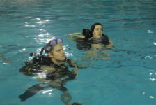 Westminster students learn how to scuba dive in a land-locked desert state