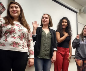 Newly-elected ASW student board members begin transition into office