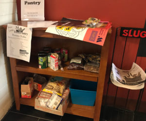 Food pantry in Bassis offers a resource for hungry students
