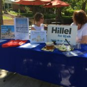 Jewish students begin celebrations for the High Holy Days