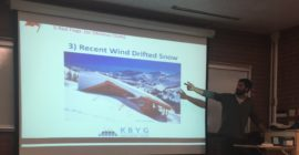 Know before you go, Westminster hosts avalanche preparedness class