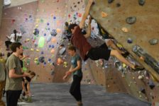 Students compete in 11th annual Westminster bouldering competition