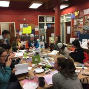 College's first womxn coordinator hosts Rape Recovery Center journal making event