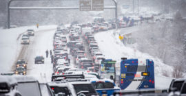 "Canyon conundrum: Utah's ""greatest snow on earth"" causing traffic problems to resorts"