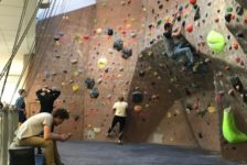 Ladies lacking at HWAC's Ladies' Climbing Hour