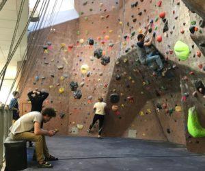 Ladies lacking at HWAC's Ladies' Climbing Hour