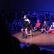 Vagina Monologue performance is a 'roller coaster' experience, according to students