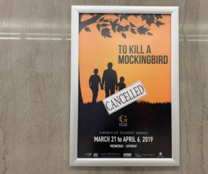 Cancelation of 'To Kill a Mockingbird' at Grand Theatre is a lost opportunity said Westminster students, faculty