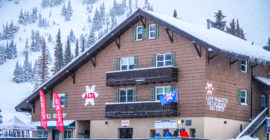 Interlodges keep skiers indoors while resort staff address avalanche dangers