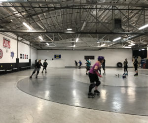 'You're a derby girl now:' student finds community through roller derby