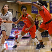 Women's basketball plays for their first conference title with active NCAA status