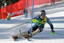 Motivation, focus: former giant slalom athlete transfers his drive into successful academic career
