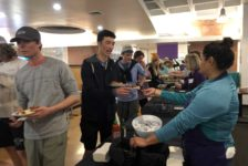 Students gather for bi-annual Late Night Breakfast as a break from finals