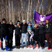 Westminster Ski Team members reflect on competing in their first NCAA skiing championship