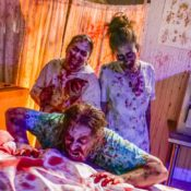Elaborate costumes, heavy makeup, broken arms: Inside the life of haunted house actors