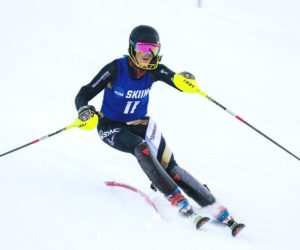Westminster alpine ski places third, 7 athletes in top 10