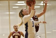 Women's basketball defeats top RMAC team