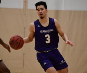 Men's basketball play highest-scoring game of its season