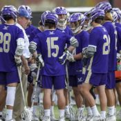 Men's lacrosse returns home after loss to Wingate