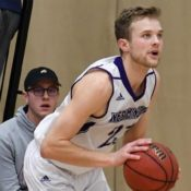 Senior on men's basketball team hits career high of points in single game